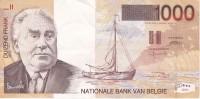 BILLETE DE BELGICA DE 1000 FRANCOS DEL AÑO 1997 CALIDAD EBC (XF) (BANKNOTE) - [ 2] 1831-... : Belgian Kingdom
