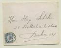 België Belgique - 1892 -  25c Leopold II On Cover To Berlin - 1884-1891 Leopold II