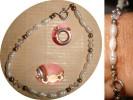 BRACELET FERMOIR ARGENT❀PERLES D'EAU DOUCE & CRISTAL SWAROVSKI - Bracelets