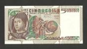 [CC] ITALIA - BANCA D'ITALIA - 5000 Lire A. Da MESSINA (Decr. 03/11/1982 - Firme: Ciampi / Stevani) - [ 2] 1946-… : Repubblica