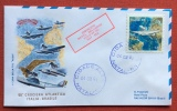 POSTA AEREA CROCIERA  ITALIA BRASILE 50.  1981 BRASILE DISPACCIO NATAL . SALVADOR VOLO VP 161 NAT - SSA - Marocco (1956-...)