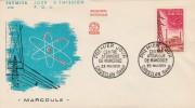 Premier Jour 1959 - Marcoule  - Ghusclan 23 Mai 1959 - FDC