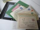 Schweden Ganzsachen / Aerogramme / Kartenbriefe Usw. 31 Stück. Hoher Katalogwert. Tolle Stücke. 1881 - 1975 - Briefmarken