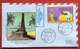 POSTA AEREA CROCIERA  ITALIA BRASILE 50o 1981 GUINE-BISSAU DISPACCIO BISSAU-NATAL VOLO DS 514/SR 146/VP 160 BXO-DKR-NAT - Marocco (1956-...)