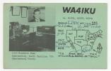 ETATS UNIS - Caroline Du Sud, SPARTANBURG Carte De Radio Amateur - Spartanburg