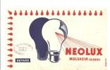 Buvard. NEOLUX Ampoules à Molsheim Bas Rhin Offert Par CEP 85, Rue Gambetta à Poitiers (86) - Electricité & Gaz