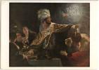 Rembrandt Van Rijn: Belshazzar's Feast Postcard Not Travelled Bb151005 - Malerei & Gemälde