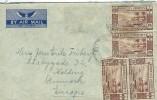 "Nouvelles Hebrides.  Cover Sent To Denmark.  Postmark ""Santo""  Rare Destination.  H-217 - Covers & Documents"