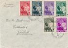 ST. MARTENS - 1937 ,  Brief Nach Zürich - Belgien