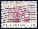 Vaticane 1975, Vaticaanstad, Vaticano, Vatican, Vatikan, Biblioteca, SG 643, Sc 582, Sass. 585 - Vaticaanstad