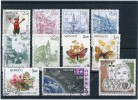 MONACO Années 1984 1985 - 11 Timbres Oblitérés TB N° 1405 1407 1408 1409 1411 1420 1421 1423  1439 1478 1503 Cote 11,55 - Used Stamps