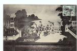 24715 CAMBODGE - PHNOM PENH PAGODE ROYALE ARMEE PASSANT RIVIERE SUR Dos Roi -Dieulefils 1636