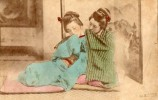 PHOTO  ANCIENNE  -  JAPON  -  JAPONAISES - - Photos