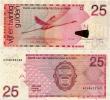 NETHERLANDS ANTILLES      25 Gulden      P-29f       1.6.2011      UNC - Antille Olandesi (...-1986)