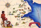 SOMALIE COTE DES SOMALIS CARTE ILLUSTREE - Somalia