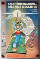 Affiche Salon De La BD ANGOULEME 1992 - Ill. GOTLIB - Gotlib