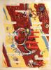 Affiche Sérigraphiée Expo Beaux Arts - Gotlib