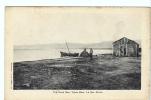 24731  PALESTINE -ISRAEL -Dead Sea, Mer Morte, Totes Meer -Fr Vester Jerusalem -barque Pecheur -tampon Hotel
