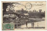 24740 Sierra Leone - Freetown - Creek In Congo Town -sans Ed Enfant Barque Maison - Sierra Leone
