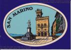 CPSM AUTOCOLLANTE SAN MARINO SAINT MARIN - San Marino
