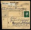 A3438) Bund Paketkarte Von Lochham 12.3.59 Mit 4 Waag. Paaren Mi.180x - Briefe U. Dokumente