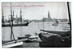 24753 Anvers Antwerpen Vue Generale Prise Tete Flandre --ed JF -bateau Peniche Transport Trois Mats