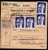 A3439) Bund Paketkarte über 10 Pakete Von Biburg 1973 Extrem Selten RRR - Briefe U. Dokumente