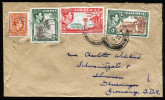 A3440) UK Jamaica Cover From Kingston Town 1954 To Ilmenau / East Germany - Jamaica (...-1961)