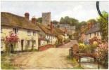 A R Quinton - East Budleigh. Devon - J Salmon No 1796 - Unused - Quinton, AR