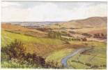 A R Quinton - Hindover Hill Nr Seaford Colour Postcard - J Salmon 2059 - Unused - Quinton, AR