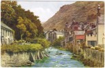 A R Quinton - The Lyn Valley, Lynmouth Colour Postcard - J Salmon No 3932 - Unused - Quinton, AR
