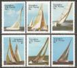 Grenadines Of St. Vincent 1988 Mi# 570-575 ** MNH - America's Cup Yachts - St.Vincent & Grenadines