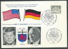 1963 GERMANIA FEDERALE CARTOLINA PRESIDENTE KENNEDY A BONN - [7] République Fédérale