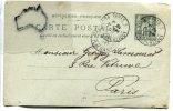 - 3 Entier Postaux - 1900/1902, Cachets Paris, Bon état, à Destination De Paris, Compiégne, Scans.. - Postal Stamped Stationery