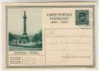Carte Postale, Postkaart, Briefkaart, 1830 - 1930, Brussel Congreszuil (pk25031) - Entiers Postaux