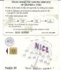 Eritrea-nice-(nakfa50)-used Card Chip+1 Card Prepiad Free