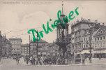 Magdeburg, Alter Markt Mit Kaiser Otto-Denkmal Und Straßenbahn, Um 1905 - Monuments