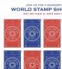 USA 2015 World Stamp Show NY 2016 Imperf  6 X 0.49c  MNH** - United States