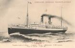 CPA-1920-PAQUEBOT-Cie GENERALE TRANSATLANTIQUE-LAFAYETTE-TBE-RARE - Paquebots