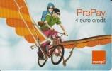 Phonecard Prepay Orange 4 Euro - Romania