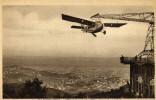 Cpa Barcelone Tibidabo Aeroplane  Non Ecrite - Airplanes