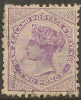 NZ 1882 2d Lilac SSF SG 188d U #OI164 - 1855-1907 Crown Colony