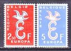 BELGIUM   527-8     **  EUROPA - Belgium