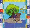MEXICO PREPAID  PHONECARDS PUZZLE/CARTOON(6pcs)-USED(2) - Puzzles