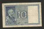 REGNO D´ ITALIA - 10 LIRE IMPERO (Decr. 1938 - Firme: Grassi / Collari / Porena) VITTORIO EMANUELE III - [ 1] …-1946 : Regno