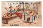 CHROMO Bognard A La Redingote Grise Lille Tailleur Feu Fourneau Fer à Repasser Repasseur - Non Classés
