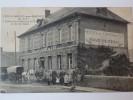 Vieux-Rouen-sur-Bresle, L'hôtel Du Chemin De Fer Et De La Gare. Envoyée à Mr Lucien Clouzet  Café De L'époque à Dieppe. - France