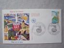 44 NANTES -  1er Jour  Pays De Loire 06-09-1975 - Marcophilie (Lettres)