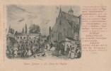 CPA PIONNIERE SCEAUX (Hauts De Seine) - Vieux Sceaux Place De L'Eglise + Texte Publicitaire SIROP GELINEAU 30 R Houdan - Sceaux