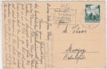 Allemagne - Yvert 580 SAARBRUCKEN  Sarre 27/12/1936 Flamme Weichnachts Frühzeitig Sur Carte Postale - Deutschland